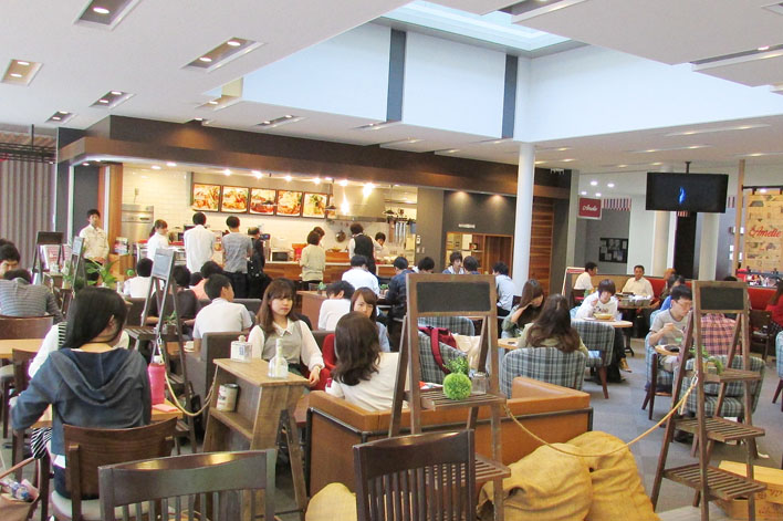 八草キャンパスに「Amelie Cafe...